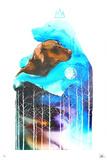 Your wild spirit... - Votre âme reste sauvage (T-shirt, Inspiration, Motivation, Chien, Loup) Édition limitée par Lora Zombie