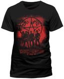 Supernatural - Symbol And Group T-Shirt
