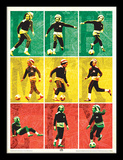 Bob Marley - Football Collector Print