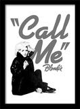 Blondie - Call Me Lámina de coleccionista