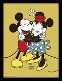 Mickey og Minnie Mouse Collector-tryk