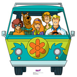 Scooby-Doo Mystery Incorporated - Mystery Machine Cardboard Cutouts