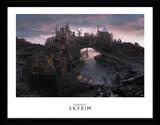 Skyrim - solitudine Stampa del collezionista
