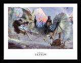 Skyrim - Alduin Stampa del collezionista