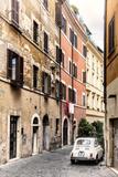 Dolce Vita Rome Collection - Fiat 500 in Rome II Fotoprint av Philippe Hugonnard