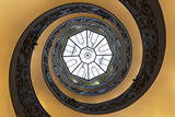Dolce Vita Rome Collection - The Vatican Spiral Staircase Fotografisk tryk af Philippe Hugonnard