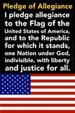 Pledge of Allegiance Foto von  Gerard Aflague Collection