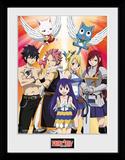 Fairy Tail stagione 2 - Key Art Stampa del collezionista