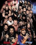 World Wrestling Entertainment - Raw vs. Smackdown Poster