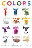 Lehrposter - Colors  Kunstdruck von  Gerard Aflague Collection