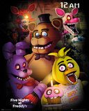 Five nights at Freddy's - gruppo Poster