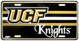 University of Central Florida Knights-nummerplade Blikskilt