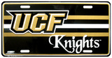 University of Central Florida Knights License Plate Carteles metálicos