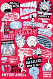 Rick et Morty - Citations en anglais  Posters