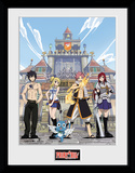 Fairy Tail stagione 1 - Key Art Stampa del collezionista