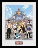 Fairy Tail - Temporada 1 cartel principal Lámina de coleccionista