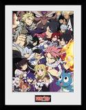 Fairy Tail - stagione 6, Key Art Stampa del collezionista