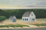 October on Cape Cod, 1946 Reproduction procédé giclée par Edward Hopper