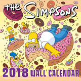 The Simpsons - 2018 Square Calendar Kalendere