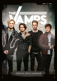 The Vamps - 2018 A3 Calendar Calendarios