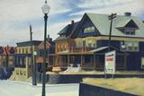 East Wind Over Weehawken Reproduction procédé giclée par Edward Hopper