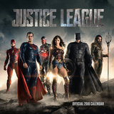 Justice League - 2018 Square Calendar Kalendrar