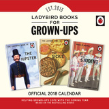 Ladybird Books for Grown-Ups - 2018 Square Calendar Kalendrar