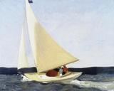 Sailing, 1911 ジクレープリント : エドワード・ホッパー