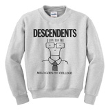 Crewneck Sweatshirt: Descendents - Milo Goes to College Shirts