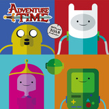 Adventure Time - 2018 Square Calendar Kalendrar