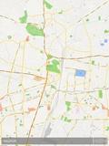 Mapa de Nagpur, Índia Posters
