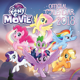 My Little Pony Movie - 2018 Square Calendar Calendarios