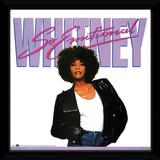 Whitney Houston - So Emotional Reproduction encadrée pour collectionneurs