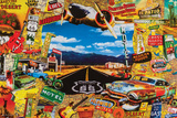 Langs de Route - Route 66 - poster Posters