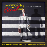 Better Call Saul - 2018 Calendar Calendars