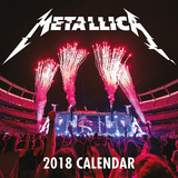 Metallica - 2018 Calendar Calendari