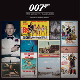 James Bond - 2018 Calendar Calendriers