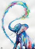 Marc Allante – elefant Plakat