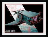 Justice League - Flying Fox Collector Print
