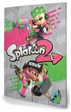 Splatoon 2 - Pink vs Green Treskilt