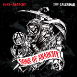 Sons of Anarchy - 2018 Calendar Kalendrar