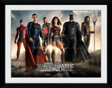 Justice League - Characters Collector Print