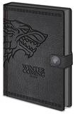 Game Of Thrones - Stark A5 Premium Notebook Dagboek