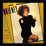 Whitney Houston - Where Do Broken Hearts Go Reproduction encadrée pour collectionneurs