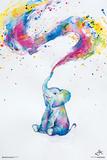 Marc Allante – spring (lille elefant) Posters