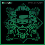 Breaking Bad - 2018 Calendar Kalendrar