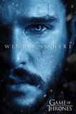 Game Of Thrones - Winter is Here - Jon Affiches