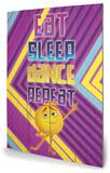 The Emoji Movie - Eat, Sleep, Dance Treskilt