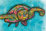 Turtle By Dean Russo Affiches