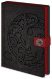 Game Of Thrones - Targaryen A5 Premium Notebook Notatbok